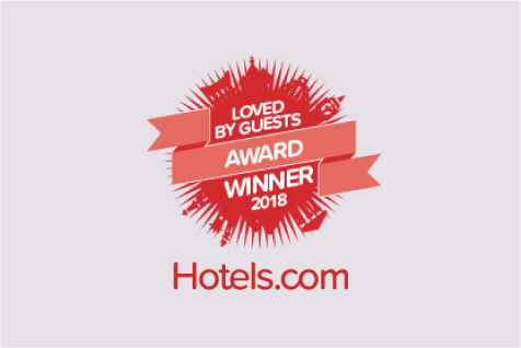 Hotels.com™ 「Loved by Guests awards-お客様が選ぶ 人気宿アワード」受賞!